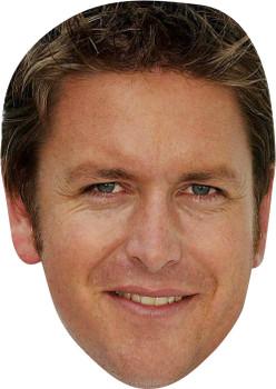 James Martin MH 2018 Tv Celebrity Face Mask
