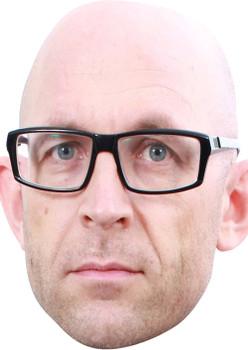Jason Bradbury Tv Celebrity Face Mask