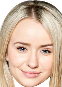 Katie Emmerdale Tv Celebrity Face Mask