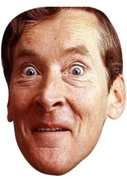 Kenneth Williams Tv Celebrity Face Mask