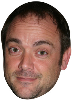 Mark Sheppard Crowley Supernatural Tv Celebrity Face Mask