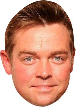 Stephen Mulherne Tv Celebrity Face Mask