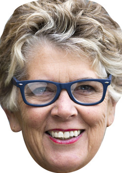 Prue Leith Great British Bake Off Celebrity Face Mask
