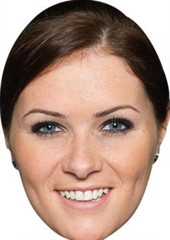 Amy Wyatt Celebrity Party Face Mask