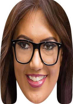 Abbie Holborn Celebrity Party Face Mask