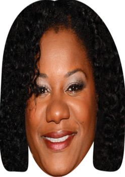 Adrienne C Moore Celebrity Party Face Mask