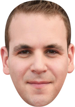 Alan Aisenberg Celebrity Party Face Mask