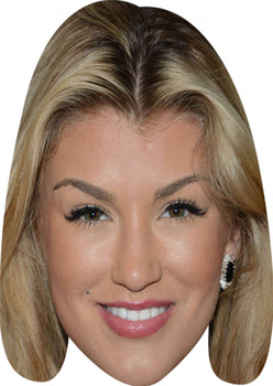 Amy Willerton Celebrity Party Face Mask