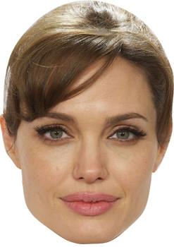 Angelina Jolie Mint Celebrity Party Face Mask