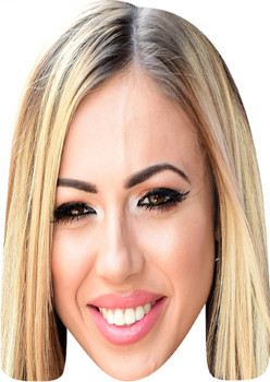 Holly Hagan Celebrity Party Face Mask