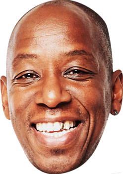 Ian Wright 2018 Celebrity Party Face Mask