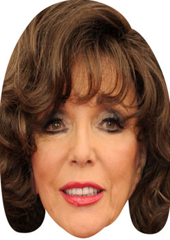 Joan Collins Celebrity Party Face Mask