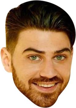 Jon Clark Celebrity Party Face Mask