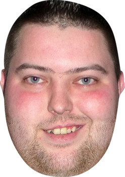 Michael Smith Darts Player Celebrity Party Face Mask
