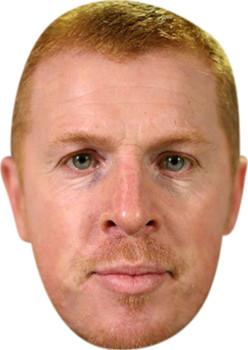 Neil Lennon Celebrity Party Face Mask