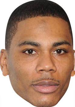 Nelly Rapper Celebrity Party Face Mask