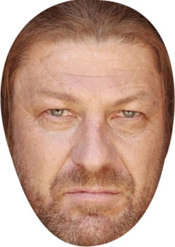 Scott Disick Card Face and Fancy Dress Mask Beard Celebrity Mask