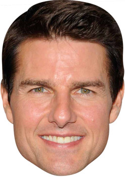 Tom Cruise 2018 Celebrity Party Face Mask