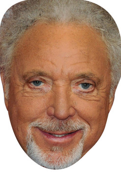 Tom Jones 2018 Celebrity Party Face Mask