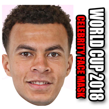 Dele Ali England Football World Cup 2018 Face Mask
