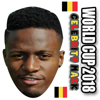Divok Origi Belgium Football World Cup 2018 Face Mask