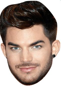 Adam Lambert Tv Movie Star Face Mask