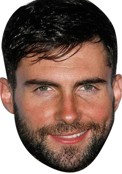 Adam Levine Tv Movie Star Face Mask