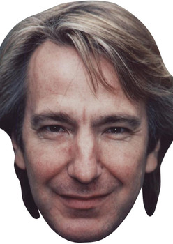 Alan Rickman Young Tv Movie Star Face Mask
