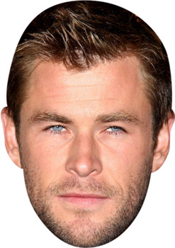 Chris Hemsworth Tv Movie Star Face Mask