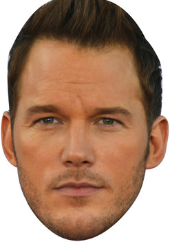 Chris Pratt (2) Tv Movie Star Face Mask