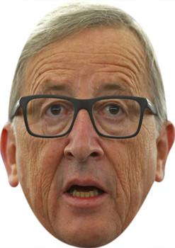 Jean Claude Juncker Tv Movie Star Face Mask