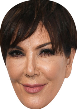 Kris Jenner Tv Movie Star Face Mask