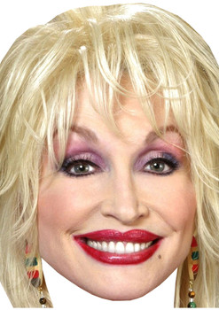 Dolly Parton Lipstick Copy Tv Movie Star Face Mask