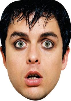 Billie Joe Armstrong Celebrity Music Star Face Mask
