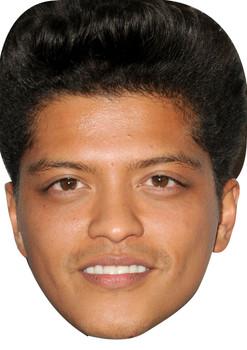 Bruno Mars Celebrity Music Star Face Mask