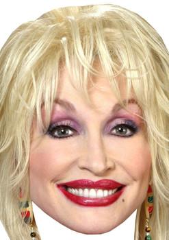 Dolly Parton Lipstick Celebrity Music Star Face Mask