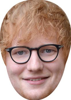 Ed Sheeran 2018 Celebrity Music Star Face Mask