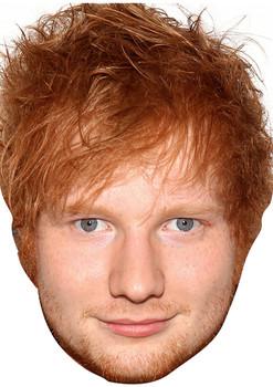 Ed Sheeran Celebrity Music Star Face Mask