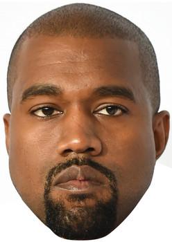 Kanye West Celebrity Music Star Face Mask