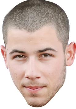 Nick Jonas2 Celebrity Music Star Face Mask