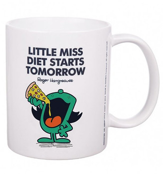 Miss Diet Starts Tomorrow Mug - Perfect Goft Xmas Secret Santa - ANY NAME