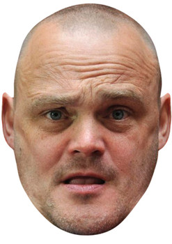 AL MURRAY JB - Funny Comedian Fancy Dress Cardboard Celebrity Face Mask
