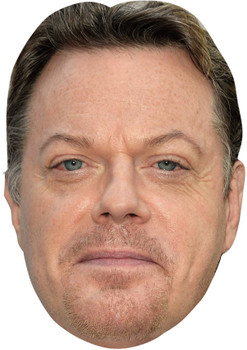 EDDIE IZZARD JB - Funny Comedian Fancy Dress Cardboard Celebrity Face Mask