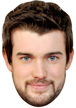 JACK WHITEHALL JB - Funny Comedian Fancy Dress Cardboard Celebrity Face Mask