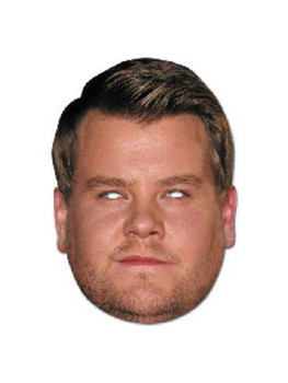 JAMES CORDEN  JB - Funny Comedian Fancy Dress Cardboard Celebrity Face Mask