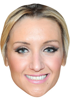 CATHERINE TYDESLEY 2 JB - Coronation Street Actors Fancy Dress Cardboard Celebrity Face Mask