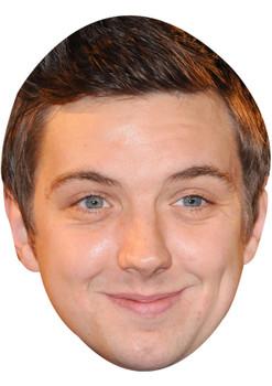 CRAIG GAZEY JB - Coronation Street Actors Fancy Dress Cardboard Celebrity Face Mask