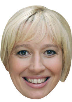 JULIE CARP JB - Coronation Street Actors Fancy Dress Cardboard Celebrity Face Mask