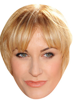 KATHERINE KELLY JB - Coronation Street Actors Fancy Dress Cardboard Celebrity Face Mask