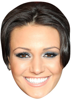 MICHELLE KEEGAN JB - Coronation Street Actors Fancy Dress Cardboard Celebrity Face Mask